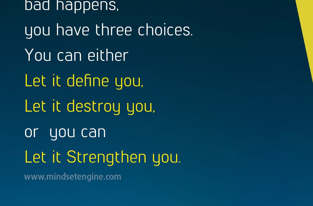 Define, Destroy, or Strengthen